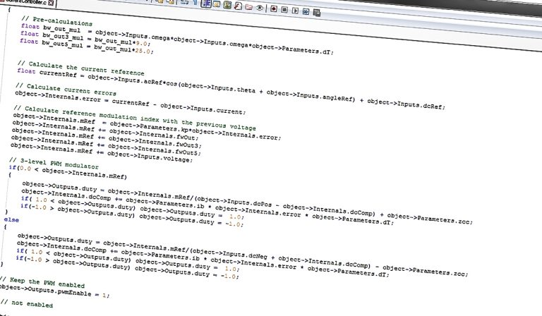 Coding and programming - Converdan Engineering