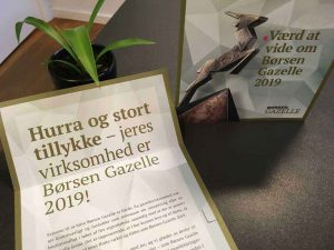 "Converdan is recognized as ""Gazelle-company"" by Børsen"
