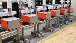 Evosep Electronic control systems in Converdan's production