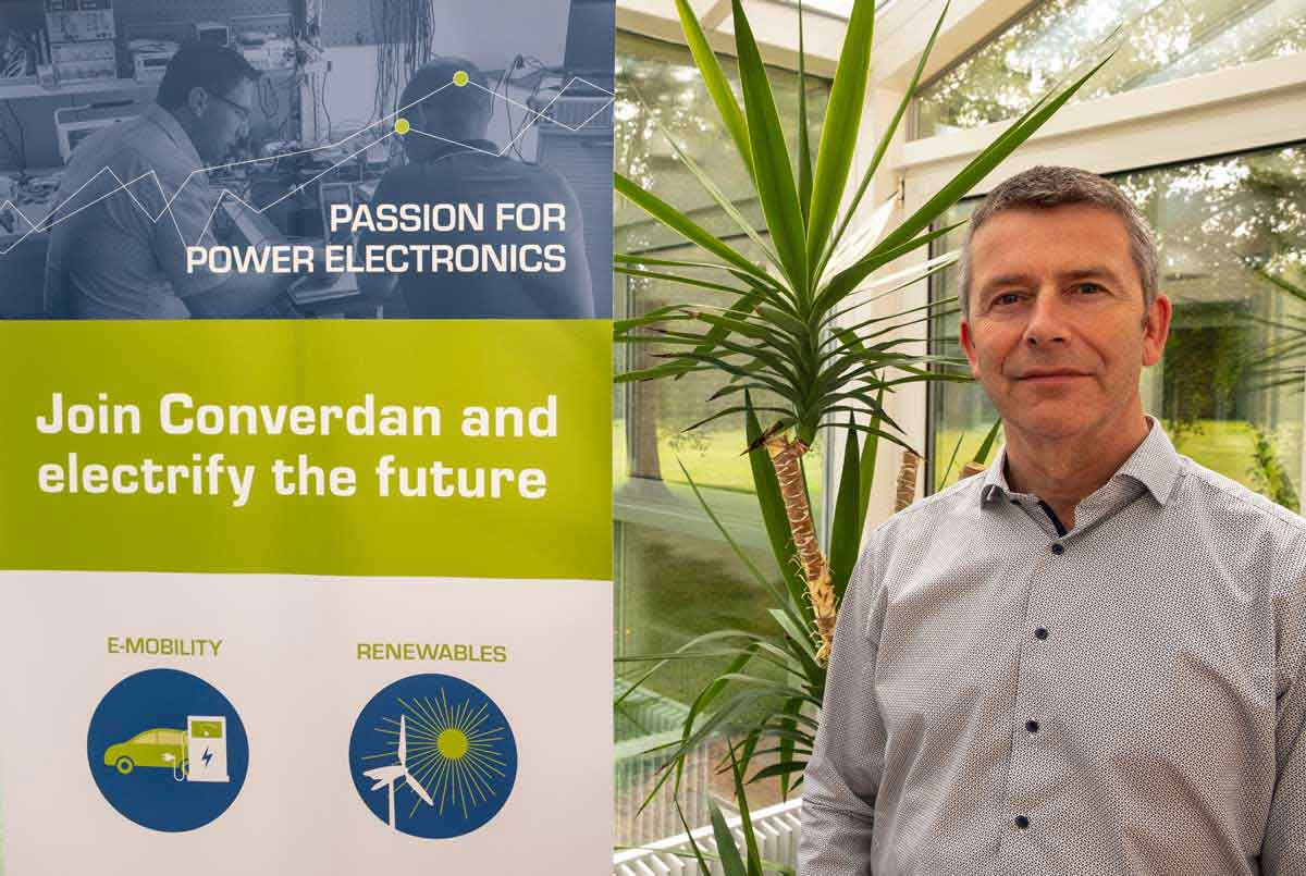 New CTO and CO-owner at Converdan, Jens Kiibt Converdan