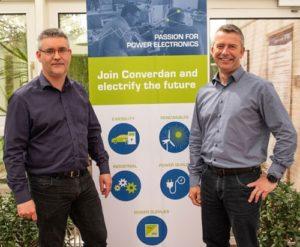 Thomas Slivsgaard, CEO and Jens Kiib, CTO at Converdan