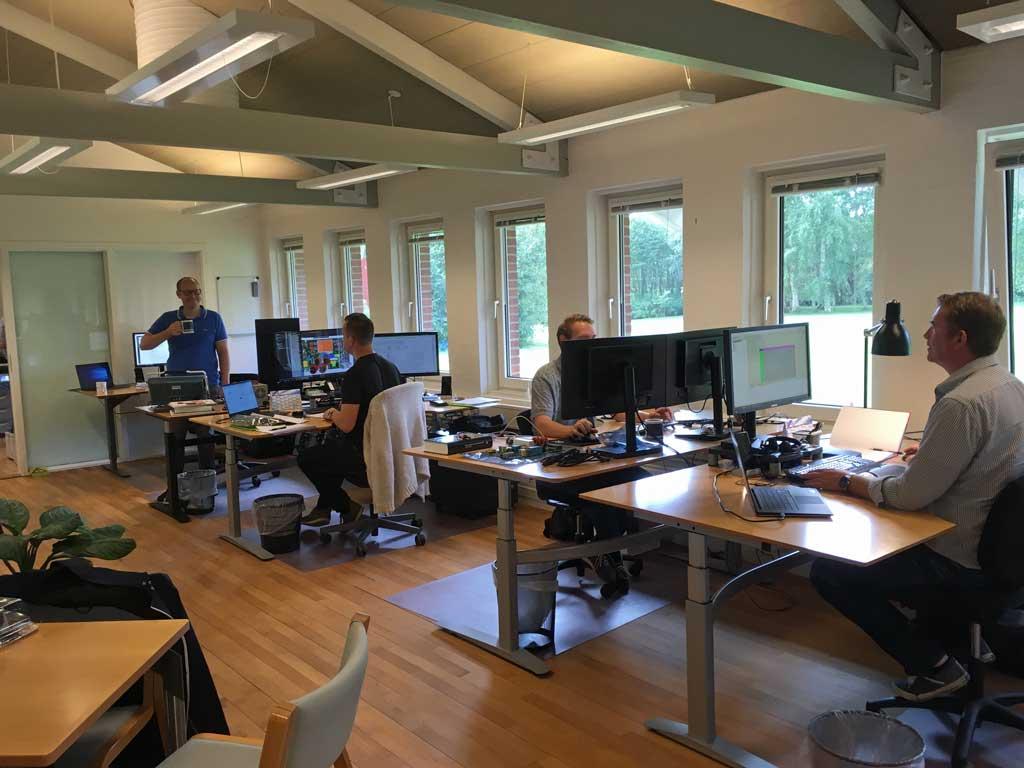 R&D department at Converdan
