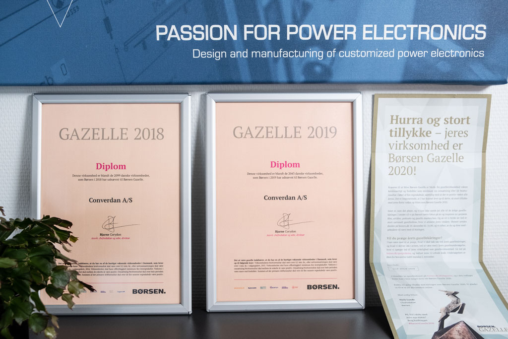 Converdan Gazelle three years in a row