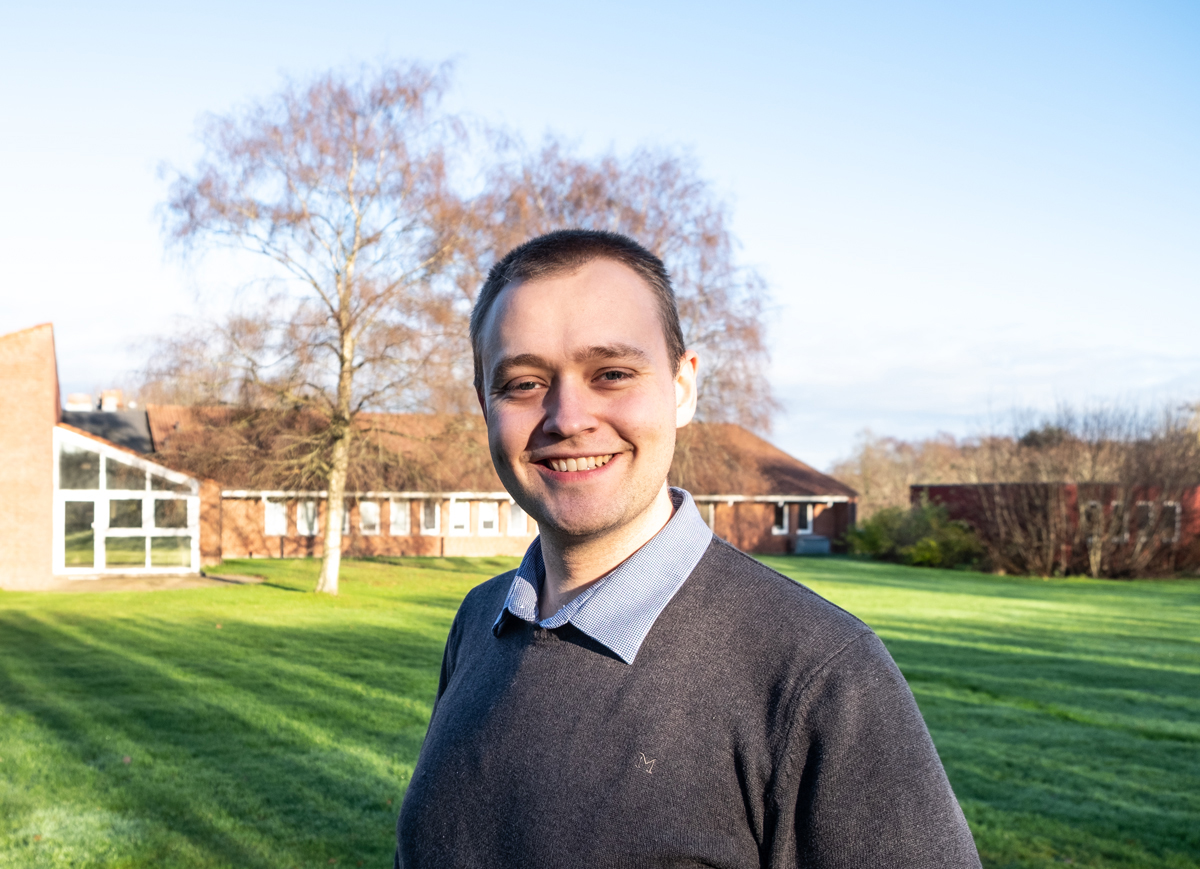 Tim Damgaard-Vyum, our new Head of Finance and Administration