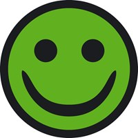 Green Smiley from the Danish Working Environment Authority